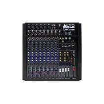 Alto Zmx124fxu Mixer De 12 Canais Efeitos Usb - Frete Grátis