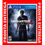 Uncharted 4 Ps4 A Thiefs Midia Física Lacrado Em Portugues
