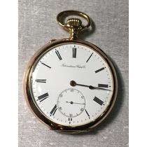 Relógio Em Ouro De Bolso