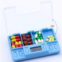Porta Comprimidos Remédio Alarme E Funções Pronta Entrega