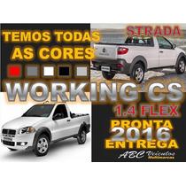 Fiat Strada Working Cab Simples Ano 16/16 Pronta Entrega