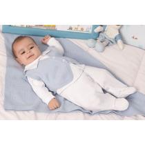 Saída Maternidade Bebê Menino Bonita Fofinho Francisco 3 Pçs