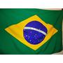 Conj. Bandeiras Oficiais Do Brasil E Eua 135x193cm