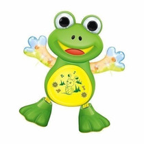 Boneco Musical Sapo Dancing Movimentos Luzes E Sons - Top