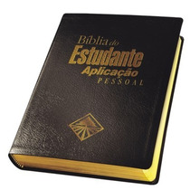 Bíblia Do Estudante Aplicação Pessoal / Preta.