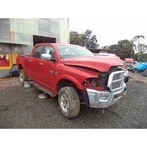 Sucata Peças Dodge Ram 2500 6.7 Diesel 2012