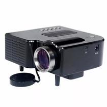Mini Projetor Portatil 1920x1080 Led 100pol Usb/sd/hdmi H80