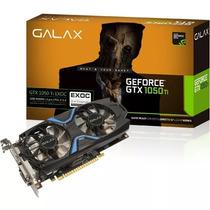 Placa De Vídeo Galax Geforce Gtx 1050ti Exoc 4gb Ddr5 128bts