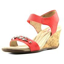 Anne Klein Sport Lacyann Synthetic Wedge Sandal