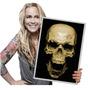 Poster Caveira Mexicana Skull Placa Barbearia Tamanho A3 044 Original