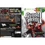 Guitar Hero 2 E 3 Combo 2 Jogos Xbox 360