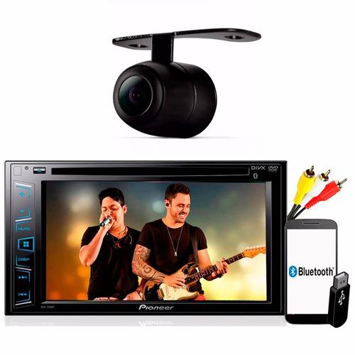 Dvd Player Pioneer Avh - 298bt Bluetooth Tela 6.2 Usb Camera