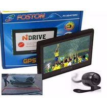 Gps Foston Fs-3d473 Dc C/ Câmera De Ré,tv Digital,tela 4.3!!