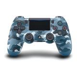 Controle Joystick Sony Dualshock 4 Blue Camo