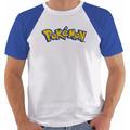 Camiseta Game Pokemon Blue