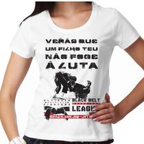 Camiseta Jiu Jitsu Quimono Feminina