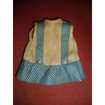 Boneca Antiga Da Atma - Somente O Vestido