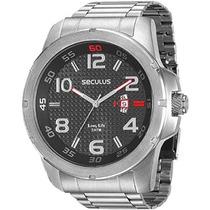 Relógio Seculus Masculino Long Life 28603g0svna1