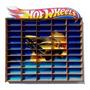 Estante Hotwheels Miniatura Coleção - Azul 50 Carrinhos Original