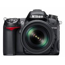 Câmera Slr Nikon D7000 Kit 18-55mm 16mp Nova Com Garantia