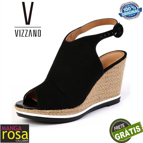 a798efc378 Sandália Feminina Anabela Vizzano 1837212