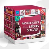Pack Artes Prontas Mídias Sociais Fontes Templates + Bônus