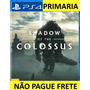 ' Shadow Of The Colossus Ps4 Pt br Playstation 4 Imediato