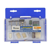 Kit Discos De Corte Escovas E Polidores Mini Micro Retífica