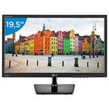 Monitor Led Lg Vga Com Tela 19,5 Brilho Magnífico 20m37 691