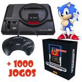 Megadrive Edição Limitada Novo Console Tectoy Com 1000 Jogos