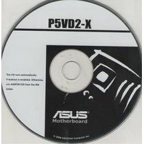 Cd Drivers Instalação Da Placa Mãe Asus P5vd2-x