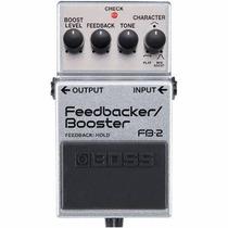 Pedal Boss Fb2 Feedback/booster, Atacado Musical