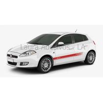Adesivo Sport Fiat Novo Bravo Kit Faixa Lateral Tuning Cores