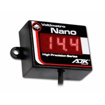Voltímetro Digital Nano Automotivo Ajk Sound Led 8 À 20 V