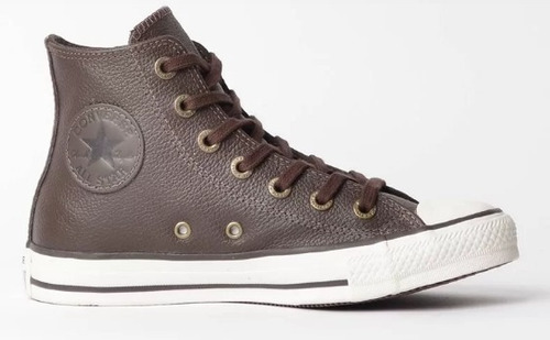 1051aa074f7 Tenis Converse All Star Cano Medio 7 Cm- Ct0449000 Chocolate