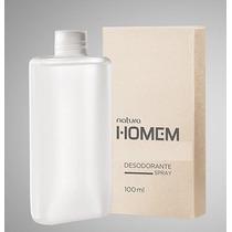 Natura Homem Desodorante Spray Masculino Refil - 100ml