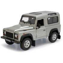 Land Rover Defender 1:24 Welly Prata 22498