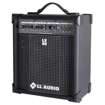 Caixa Amplificada Multiuso Usb L L Áudio Lx 60 Frete Grátis