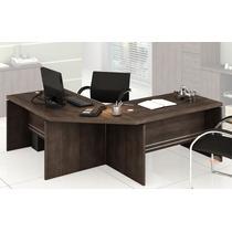 Mesa Escrivaninha Estação De Trabalho 2 Mesa E 1 Canto