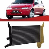 Radiador Celta 2000 Até 2005 S/ Ar C/ Reservatório - C/ Nfe