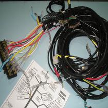 Chicote Eletrico Fusca Ap Completo + Caixa De 12 Fusiveis Ap