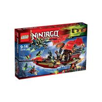Brinquedo Lego Ninjago Voo Final Do Barco Do Destino 70738