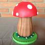 Cogumelo Em Eva 3d 22cm