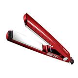 Prancha De Cabelo Mq Professional Hair Styling Titanium Vermelha Com Placas De Titânio 110v/220v (bivolt)