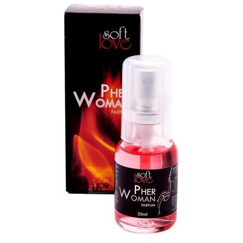 9332f3e5e Perfume Feminino Feromônio Pher Woman + Brinde