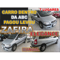 Zafira Elegance 2.0 Flex Ano 2006 - 7 Lugares