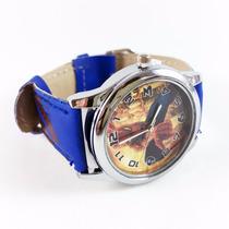 Relógio De Pulso Homem-aranha Infantil Spiderman Azul