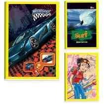 Cx C/150- Caderno Brochura 60 Folhas Sem Pauta Frete Grátis