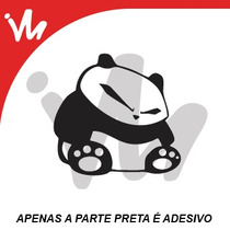 Adesivo Bad Panda Jdm Euro Look Turbo Aspirado Sticker Bomb