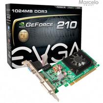Placa Vga 1gb Geforce Gt 210 Evga Pci-e 2.0 Envio Grátis